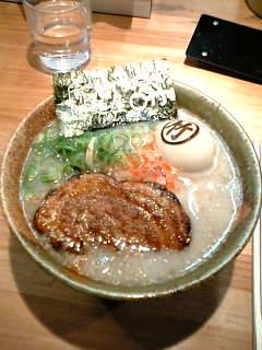 ○竹のラーメン